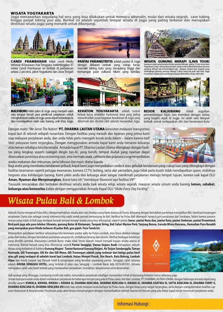 Wisata Pulau Bali & Lombok