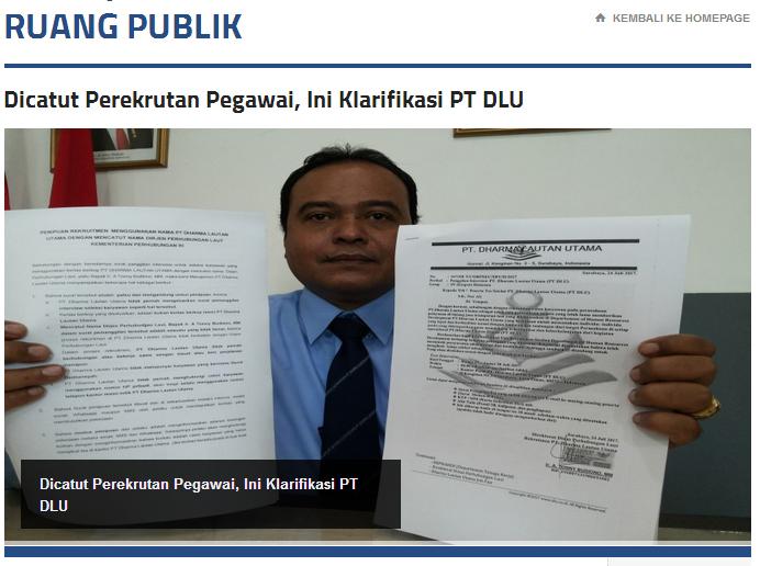 Konferensi Pers DLU Klarifikasi Loker Berkedok Penipuan