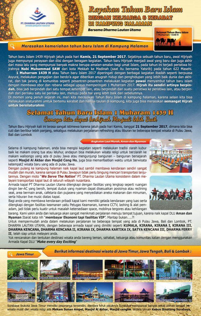 Rayakan Tahun Baru Islam dengan Keluarga & Kerabat di Kampung Halaman bersama Dharma Lautan Utama