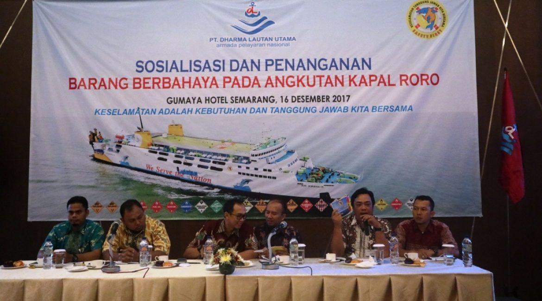 Sosialisasi Penanganan Muatan Berbahaya, Cabang Semarang