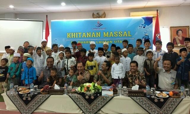 Akhiri Tahun, PT Dharma Lautan Utama Gelar Khitanan Massal yang diikuti 60 Anak dari Surabaya dan Luar Kota