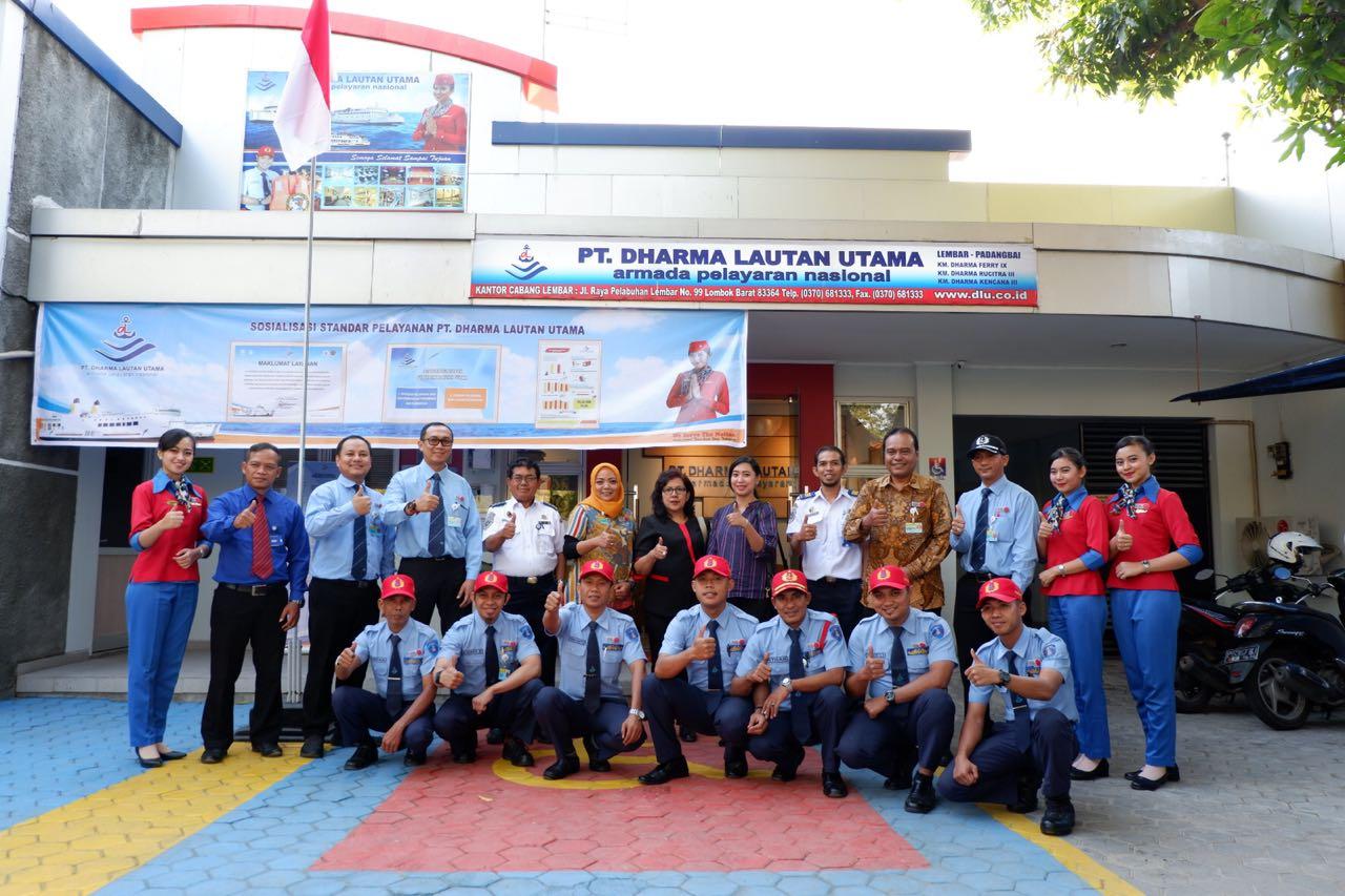PT. DHARMA LAUTAN UTAMA Keikutsertaan dalam ajang bergengsi Penilaian Prima Unit Pelayanan Publik Sektor Transportasi Tahun 2018 yang diseleggarakan Kementerian Perhubungan Republik Indonesia