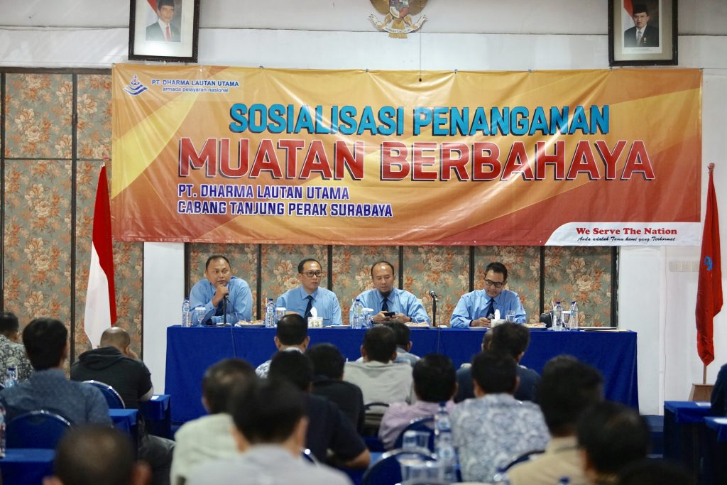 Sosialisasi Penanganan Muatan Berbahaya, Cabang Tanjung Perak