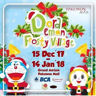 doraemon-frosty-vilage-pakuwon-mall