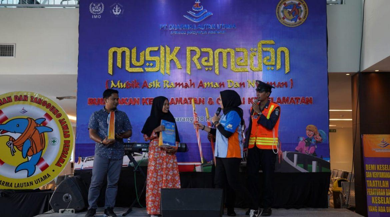 PT DLU Gelar Kampanye Keselamatan Penumpang Bertajuk Musik Ramadan