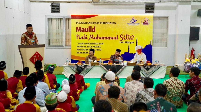Peringatan Maulid Nabi Muhammad SAW, PT. Dharma Lautan Utama menggelar lomba hafalan Al Qur'an, lomba Adzan, dan pengajian umum